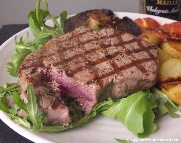 The Perfect Steak - Grass Fed Hereford Beef cooked simply