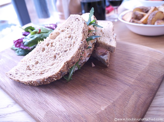 Salmon Sandwich Cellarium