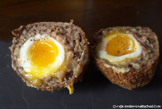 The Spaniards - Haggis Wrapped Scotch Eggs
