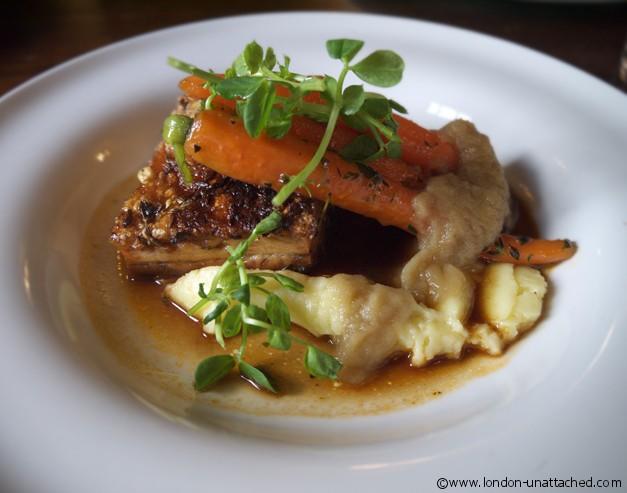 The Spaniards Inn Pork Belly