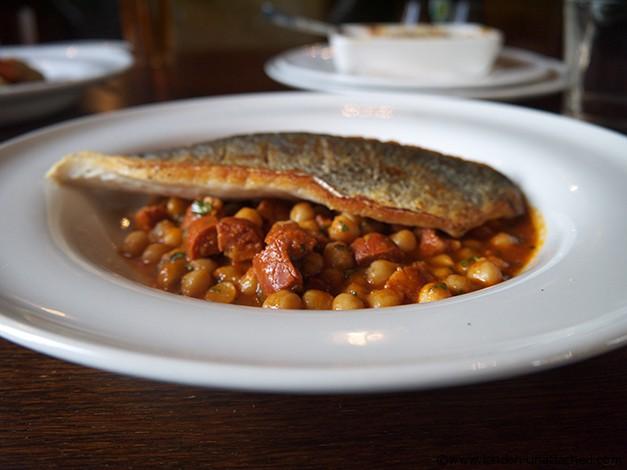 The Spaniards Inn Hampstead - Sea Bass