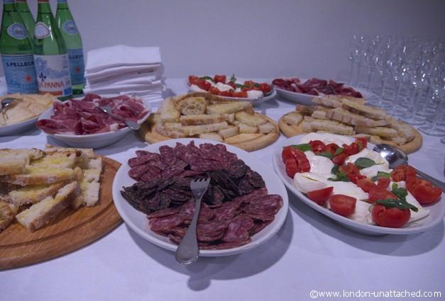a cellar snack - abruzzo
