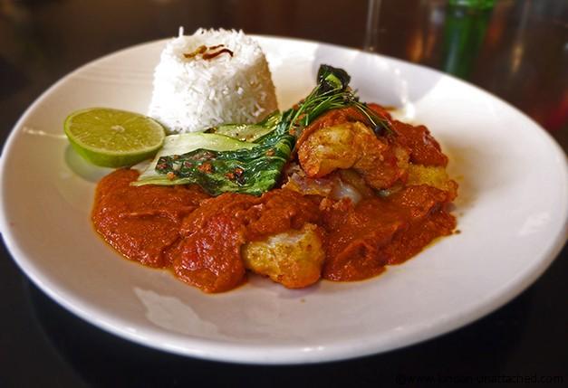 namaaste kitchen monkfish