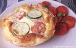 5-2 Diet Smoked Salmon and Filo Pastry Tart