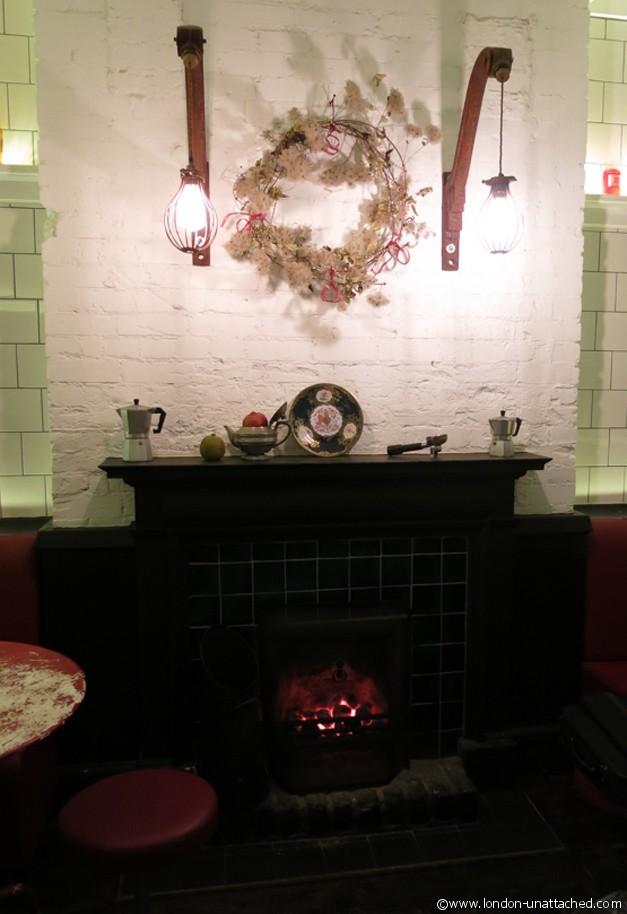 the parlour - fire
