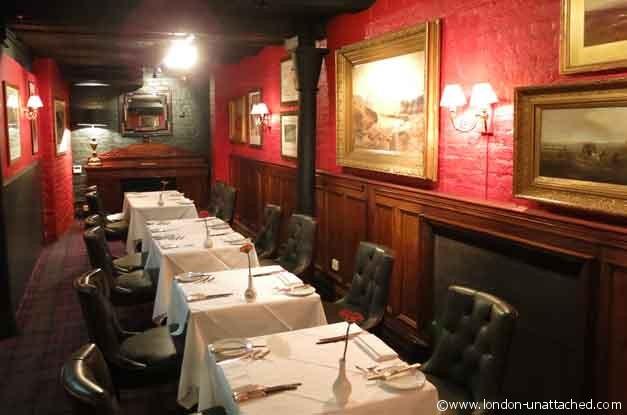 Boisdale Bishopsgate Restaurant