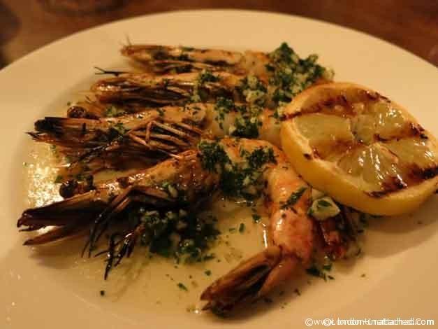 Casa Malevo Garlic Prawns