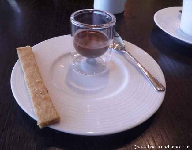 Dessert Amuse Bouche, Dinner by Heston Blumenthal
