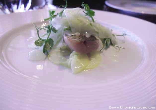 Grilled Hay Smoked Mackerel - Dinner, Knightsbridge