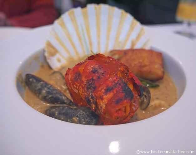 Salaam Namaste seafood moille