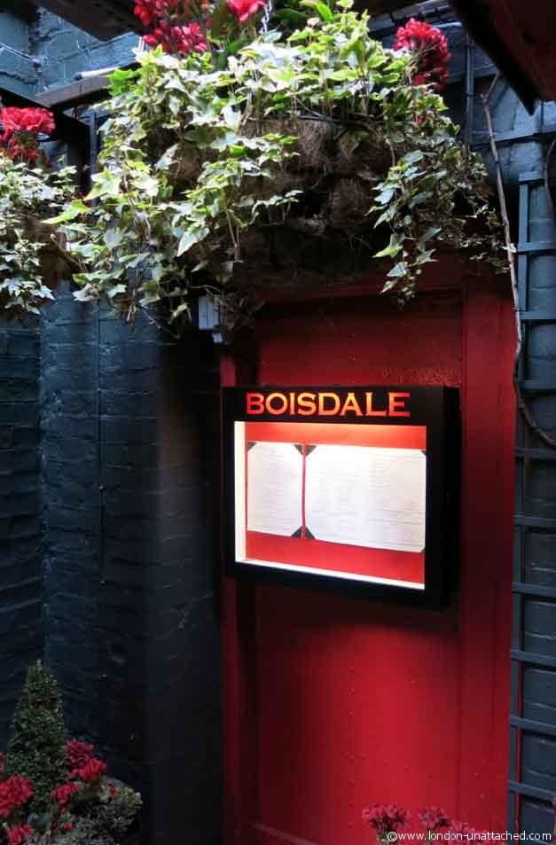 boisdale bishopsgate door