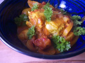 Healthy Fish Tagine for 5-2 Diet