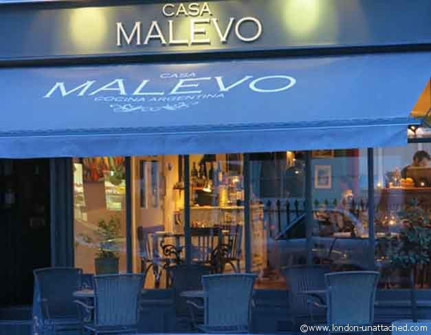 exterior of Casa Malevo