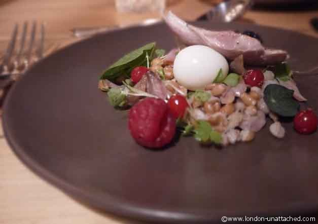 house of wolf quail salad
