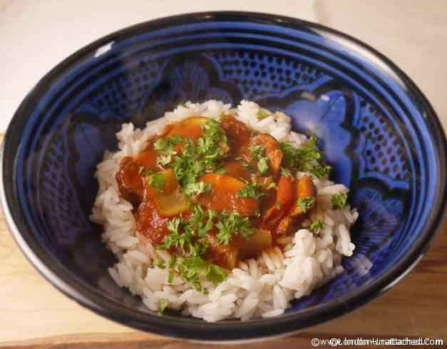 5:2 diet recipes - mushroom goulash