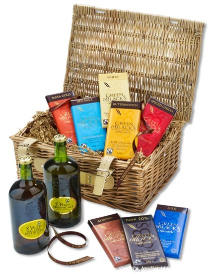 Green &  Black's Fathers Day hamper