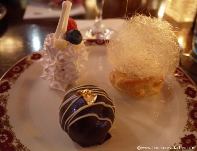 Gatsby Desserts - Perrier-Jouet Revival Dinner