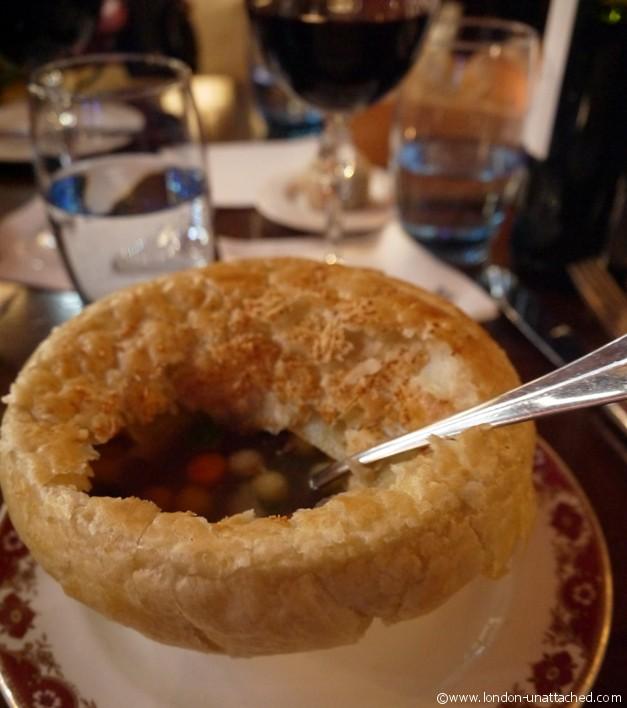 Gatsby Soup - St Pancras Rennaissance