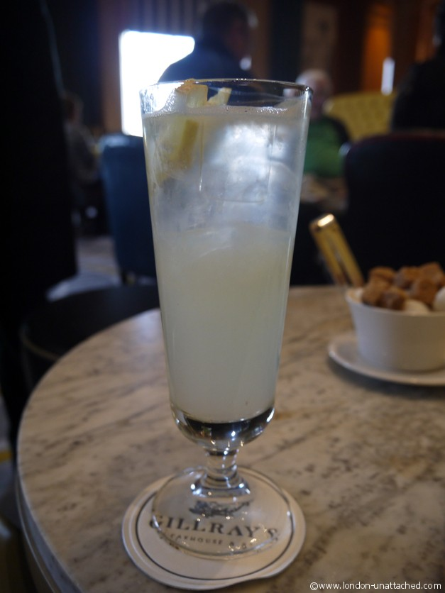 Gillrays home-made lemonade