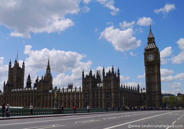 Houses of Parliament - London-Unattached