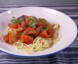 Sweet and Sour Sausage Casserole