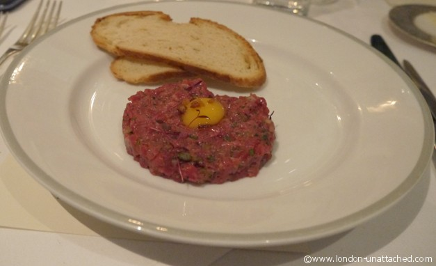 Scotch beef tartare