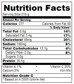 creamy tarragon chicken 5:2 diet