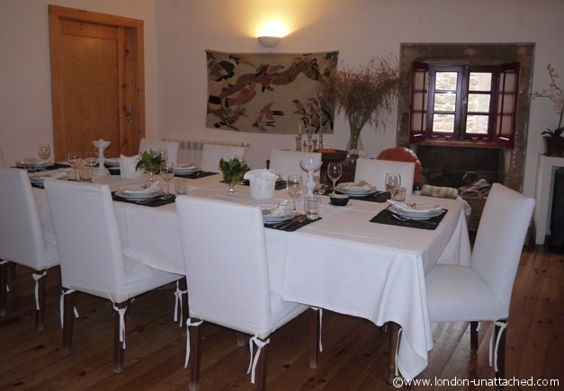 dining room casa da cisterna portugal