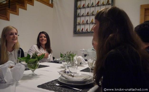 dinner at ana's