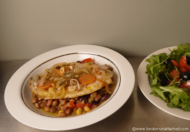 5-2 diet escabeche and salad