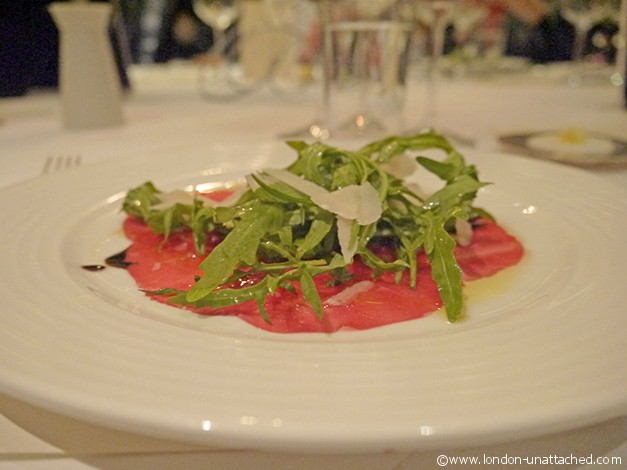 plateau scotch beef beef carpaccio