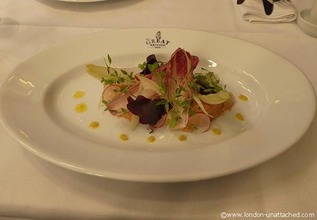 The Great British crab salad