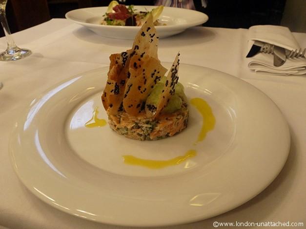 tuna tartare great british