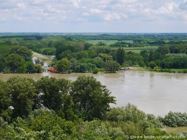 Baranja - Flooded Danube
