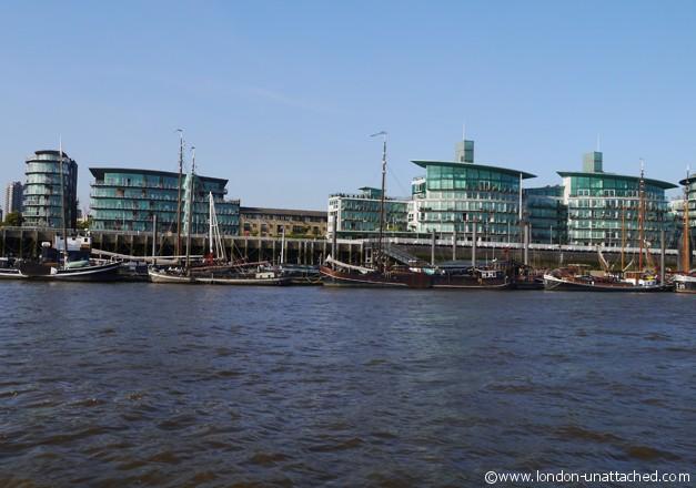 London-Unattached docklands