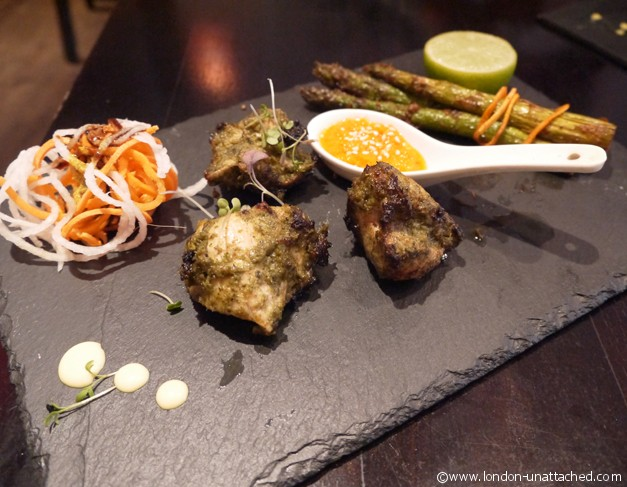 Namaaste Kitchen tandoori chicken