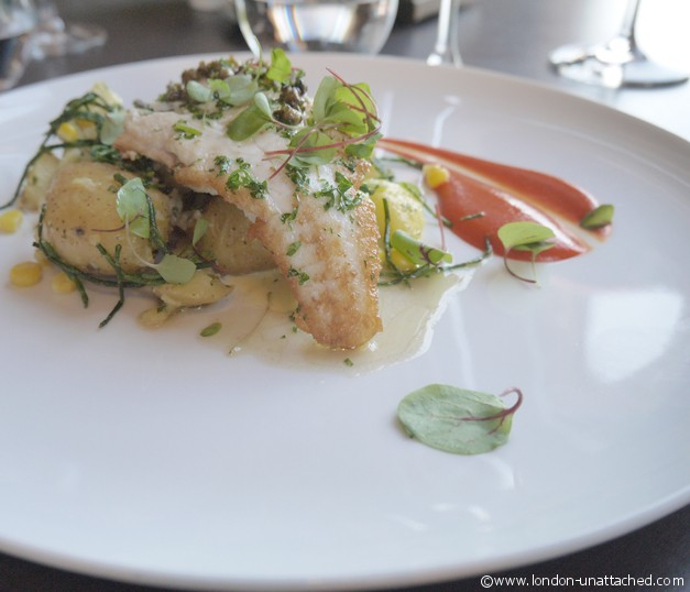 Royal Albert Hall Coda Restaurant Plaice Meuniere