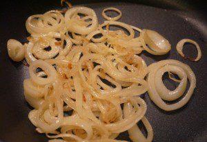 beef stroganoff onions