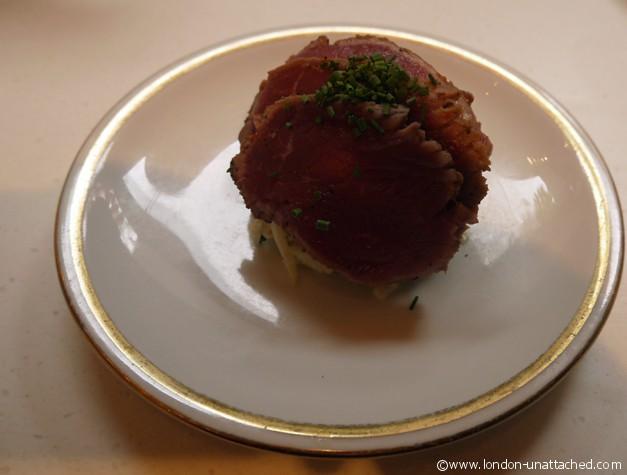 itsu wasabi beef salad