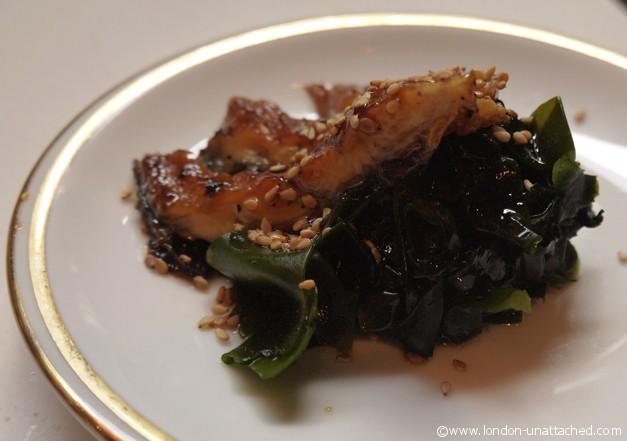 itsu smoked eel