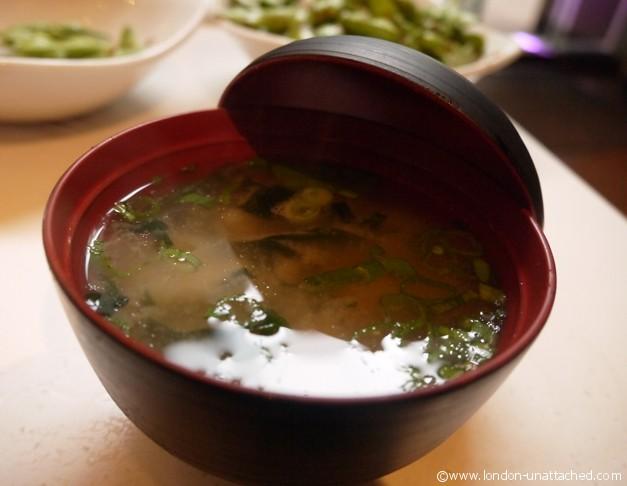 miso soup itsu