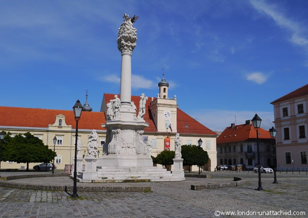 town square osijek