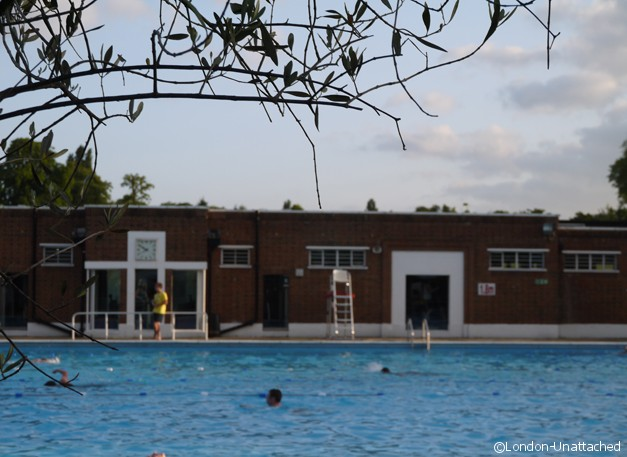 Brockwell Park Lido Cafe Evening Constitutional Review