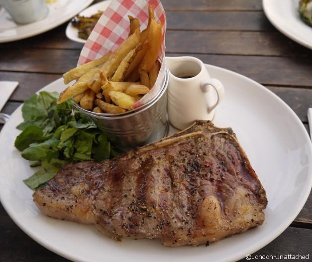 Brockwell Park LidoCafe Review Steak