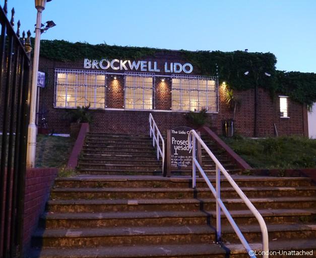 Brockwell Park Lido Cafe