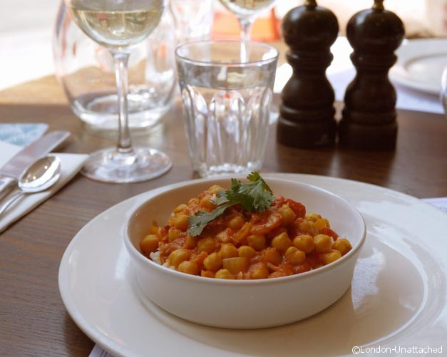 Chickpea curry - Harrisons Balham - Rick Stein
