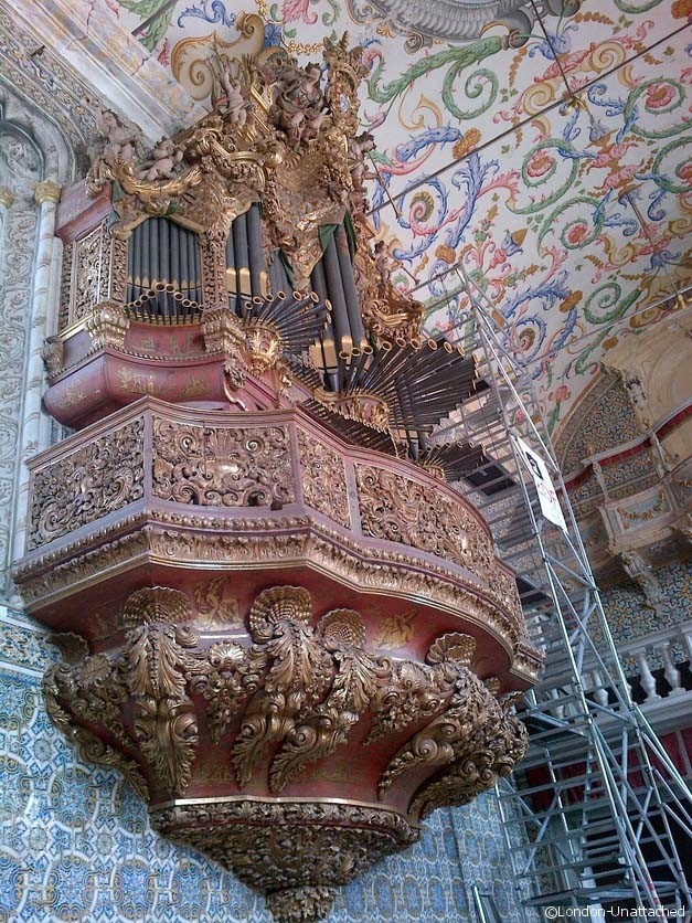Coimbra University - Organ
