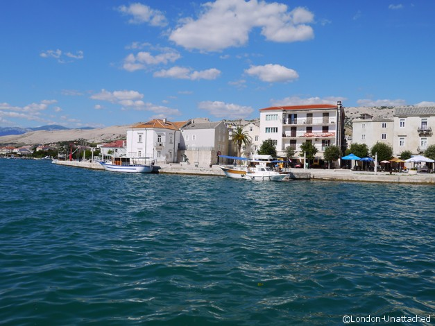 Croatia Pag Harbour