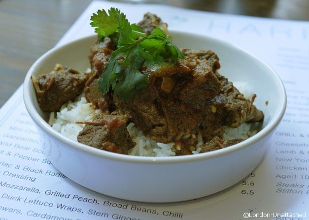 Harrisons Rick Stein Indian Menu Beef Vindaloo