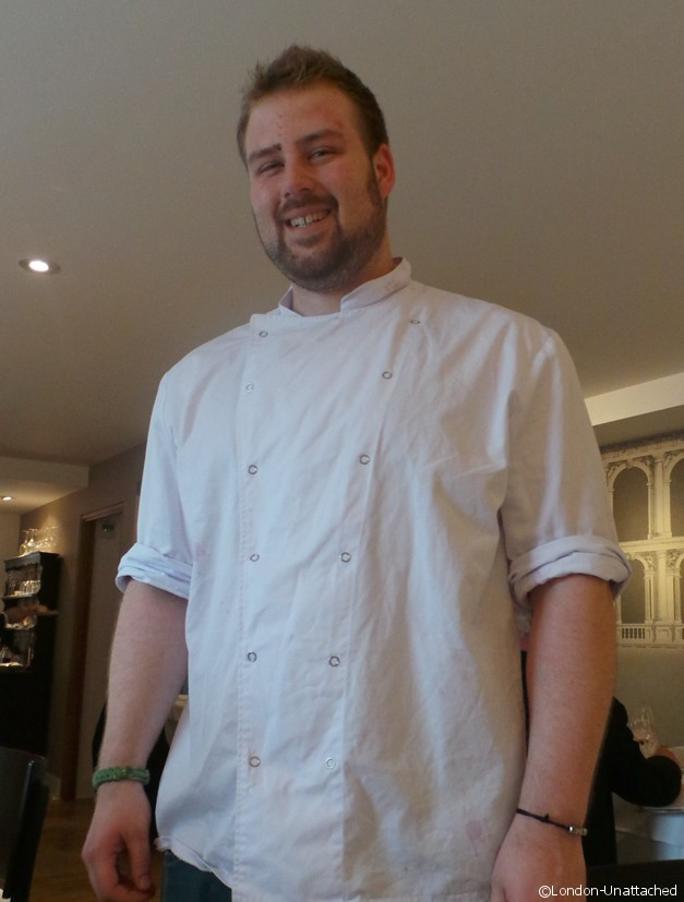 London Unattached meets the chef